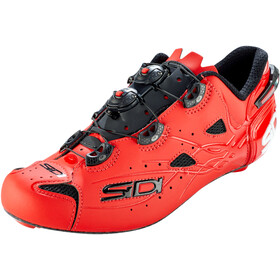 Sidi Shot Schoenen Heren, matt red